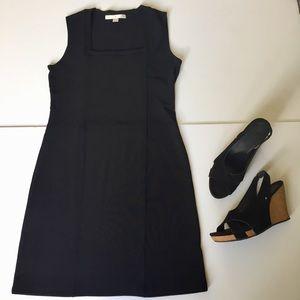 Boston Proper Black Sleeveless Classic Dress small